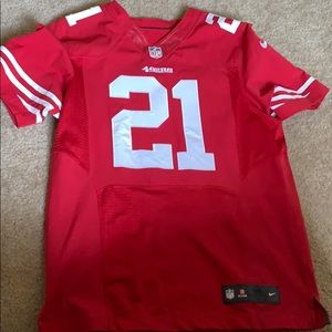 Nike SF 49ers jersey OnField Frank gore 44